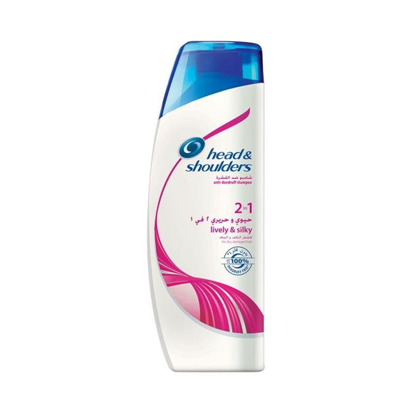 Head & Shoulder 2in1  Smooth & Silky Shampoo 360ml