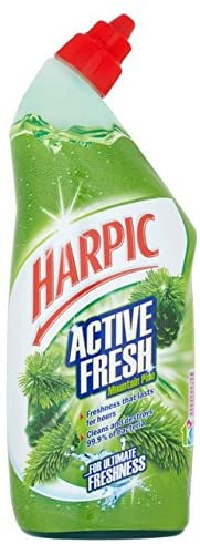 Harpic Active Fresh Cleaning Gel Pine 750ml (4711934984277)