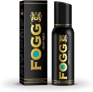 Fogg Fresh Aqua Fragrance Body Spray Imported 120ML (4626074107989)