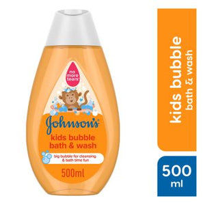Johnsons Bubble Baby Bath n Wash 500ML (4624153378901)
