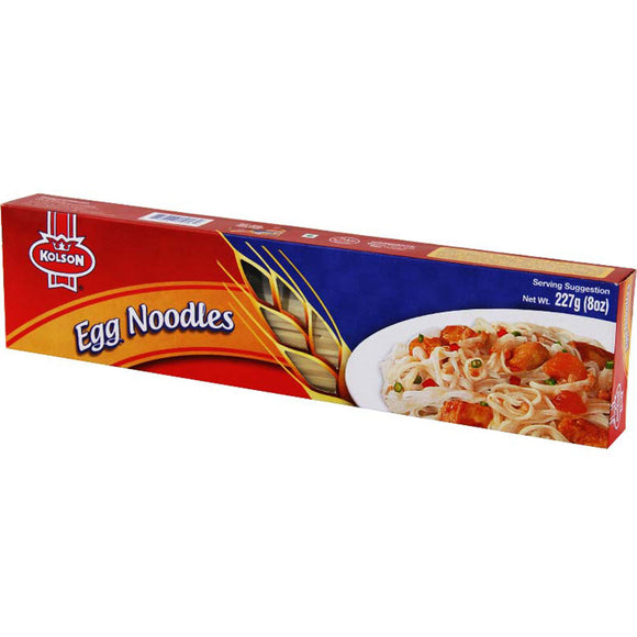 Kolson Egg Noodles 227 GM (4734729486421)