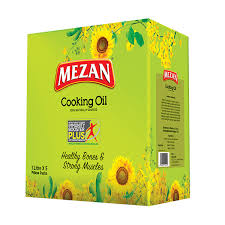 Mezan Cooking Oil 1LTR X 5