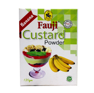 Fauji Custard Banana Powder 120gm (4639000494165)