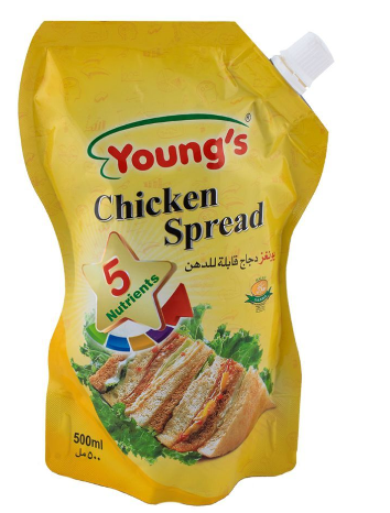 Young's Chicken Spread 500ml Pouch (4736284098645)