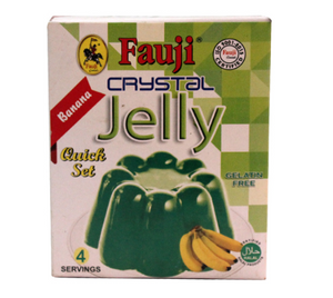 Fauji Crystal Banana Jelly 80gm (4639010881621)