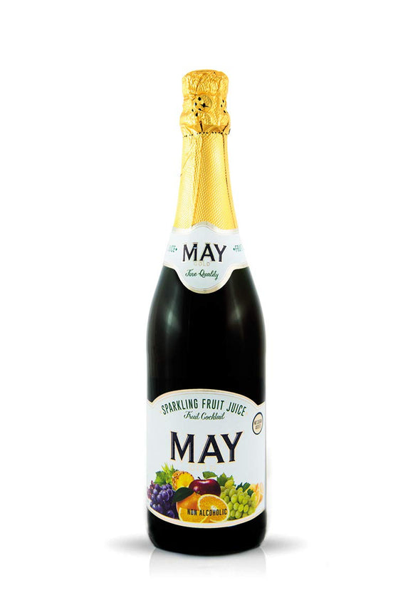May Sparkling Fruit Juice 750ml Fruit Cocktail