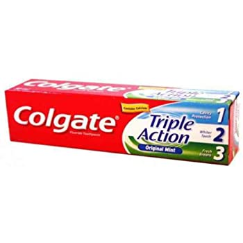 Colgate Tooth Paste Triple Action 75gm whole mouth health (4624030531669)