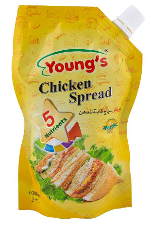 Young's Chicken Spread 200ml (4736283213909)