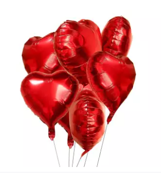 Pack of 5 Foil Baloons for kids