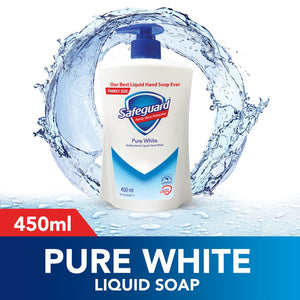 Safeguard Pure White Hand Soap 450ml (4649483305045)