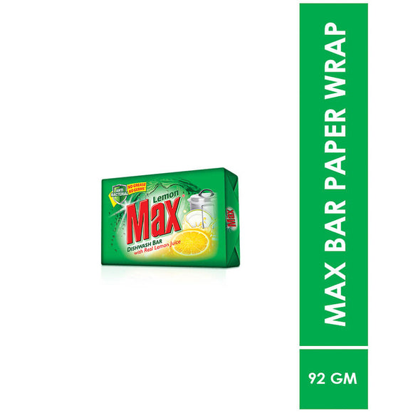 Lemon Max Dishwash Bar 92g (4807092535381)