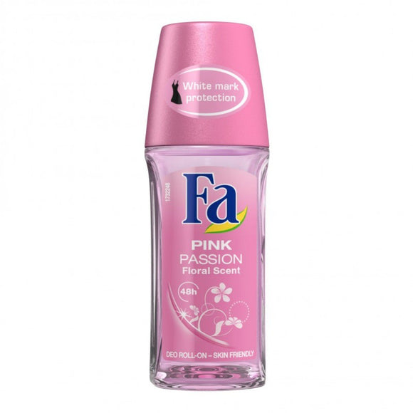 FA Pink Passion Roll on 50ml (4681830531157)