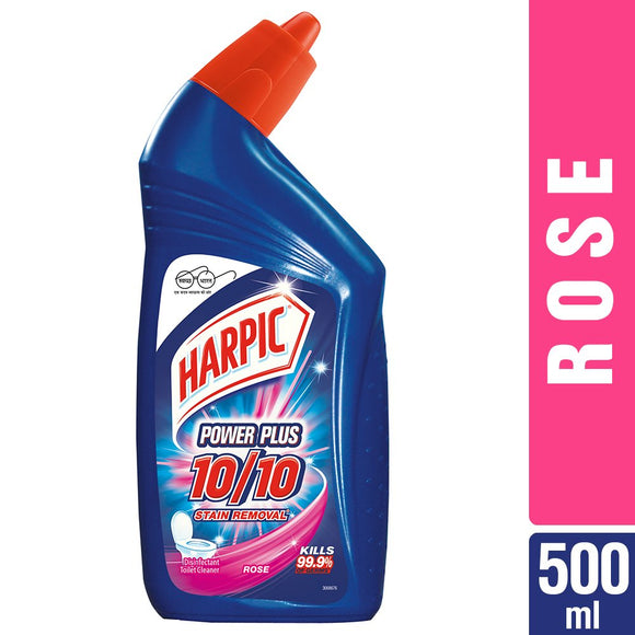 HARPIC TOILET CLEANER ROSE 500ML (4725567914069)