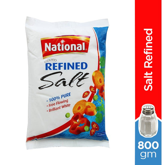 National Refined Salt 800gm
