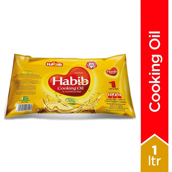 Habib - Habib Cooking Oil - 1Ltr (4718157201493)