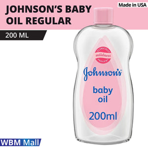 Johnson's Baby Oil Regular, 200ml-By WBM