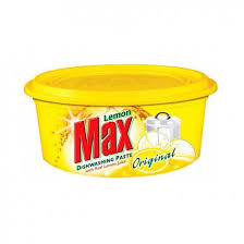 Max Dishwash Yellow Paste 400 GM (4736716636245)