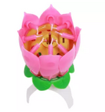Blooming Flower Musical Candle Birthday Candle (4624248537173)