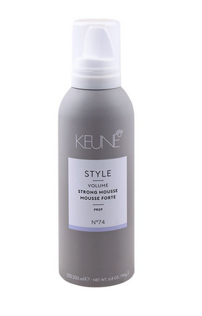 Keune Style Volume Strong Mousse, Prep, N-74, 200ml