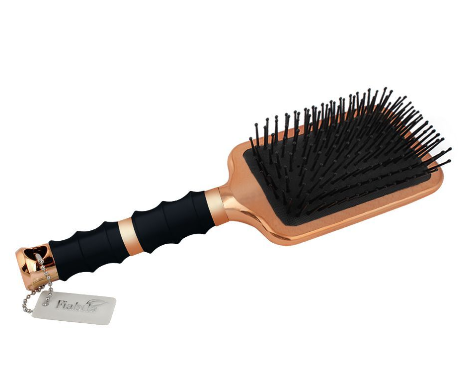 Fiabila Padle Hair Brush, Golden, Rectangle, FB-145 (4824474452053)