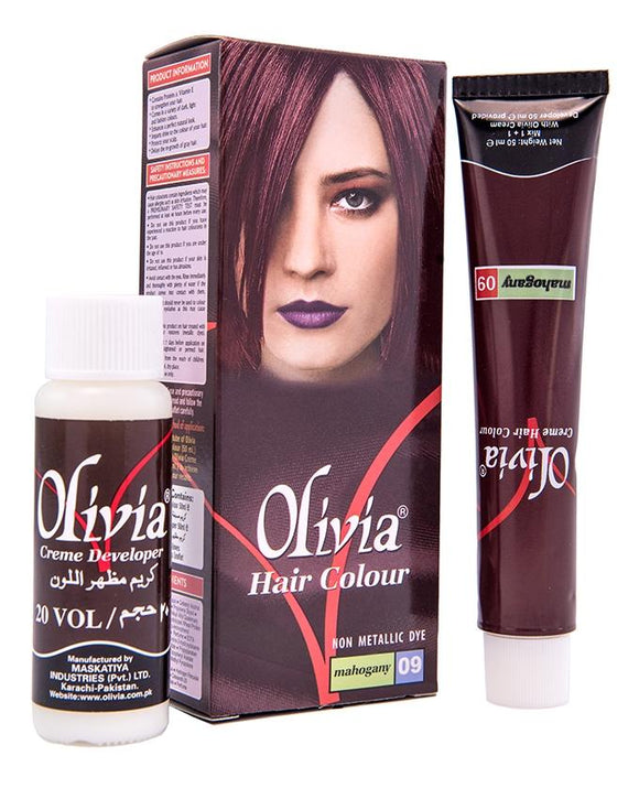 Olivia Hair Color Mahogany (4614219006037)