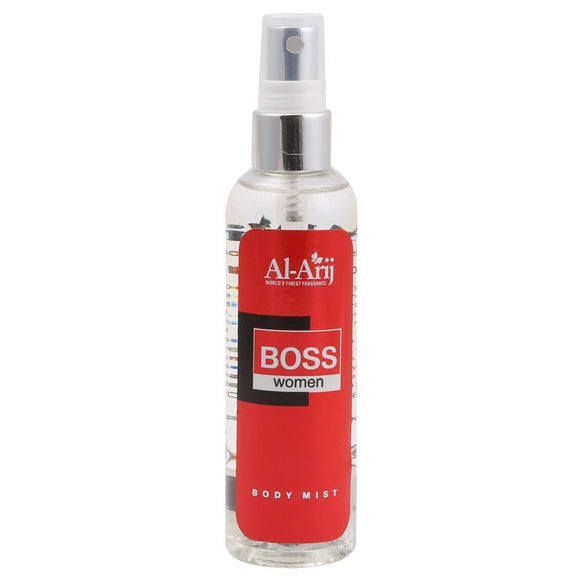 Al Arij Body Mist Boss Women 125ml (4621107003477)