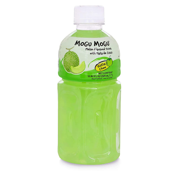 Mogu Mogu Melon Flavoured Drink 320ml (4648636350549)