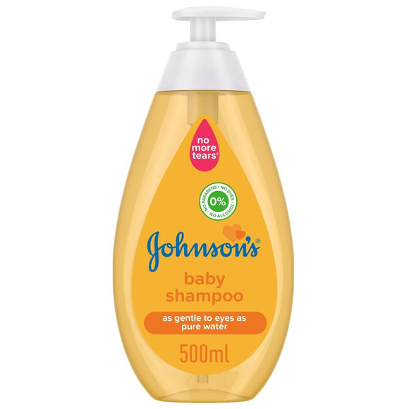 Johnson's Baby Shampoo, UAE, 500ml (4720564764757)