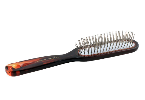 Hair Line Hair Brush, Brown/White, 6234TT (4824488280149)