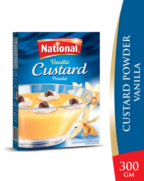 National Custard Powder Vanilla 300gm