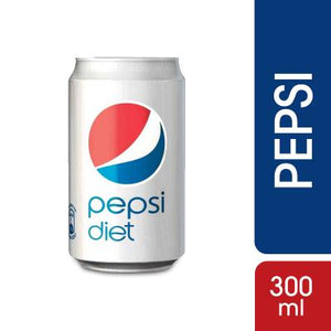 Pepsi Diet Can 300ml