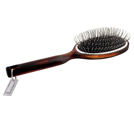 Maggie Hair Brush, Brown, Oval Shape, MGOL-05 (4824486248533)