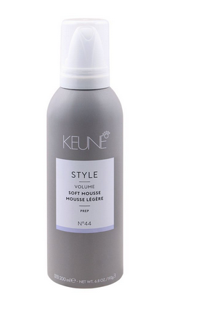 Keune Style Volume Soft Mousse, Prep, N-44, 200ml