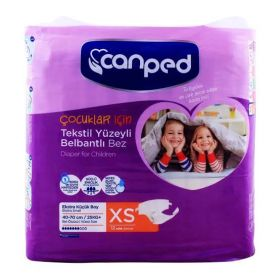 Canped Adult Diaper 12s Extra Small (4749019611221)