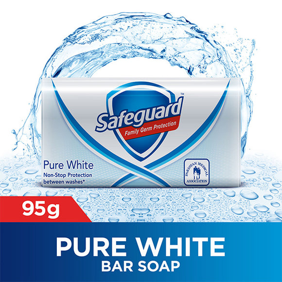 Safeguard Pure White Soap 95 gm (4648441053269)
