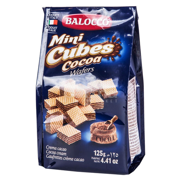 Balocco Mini Cubes Cocoa Wafers 125g (4625734074453)