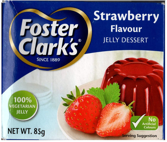 Foster Clark Strawberry Jelly Dessert 85gm