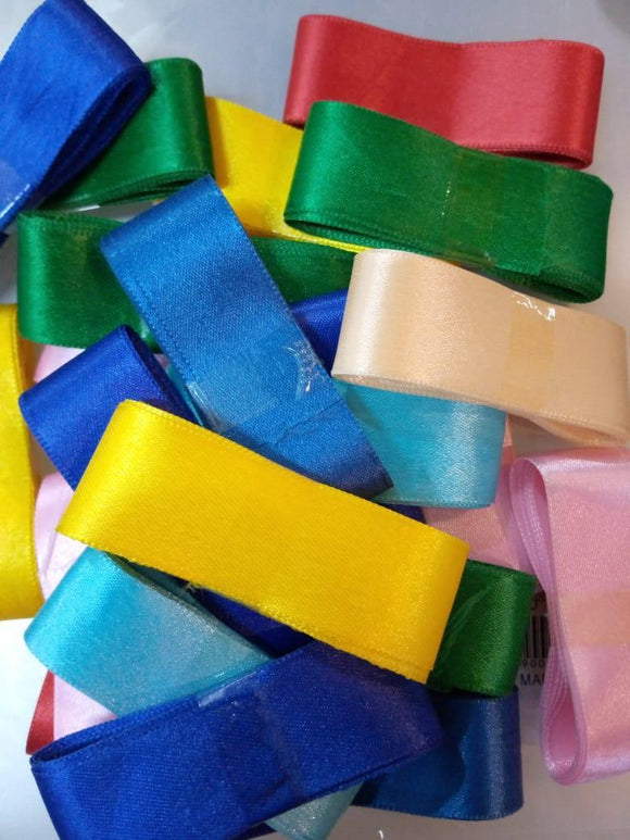 Pack Of 20 1 inch Ribbon Multi Color (4624275079253)