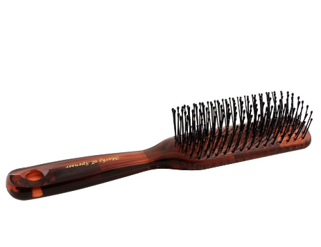 Hair Brush, Brown, Rectangle, 18001TT (4824484347989)