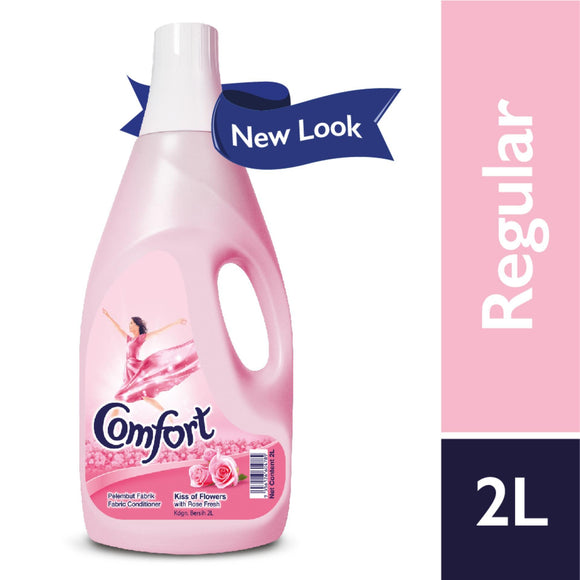 COMFORT FABRIC SOFTNER LOVING PINK 2LTR (4746552049749)