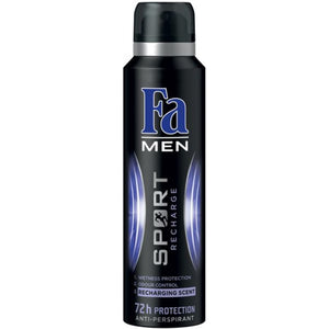 FA Men Sport Recharge Body Spray 200ML (4624103899221)