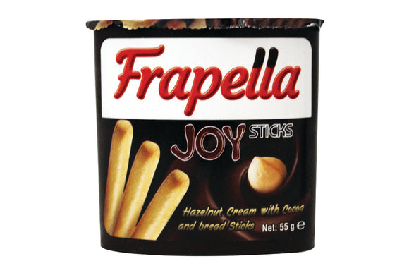 Frapella Joy Sticks Hazelnut Cream 55gm