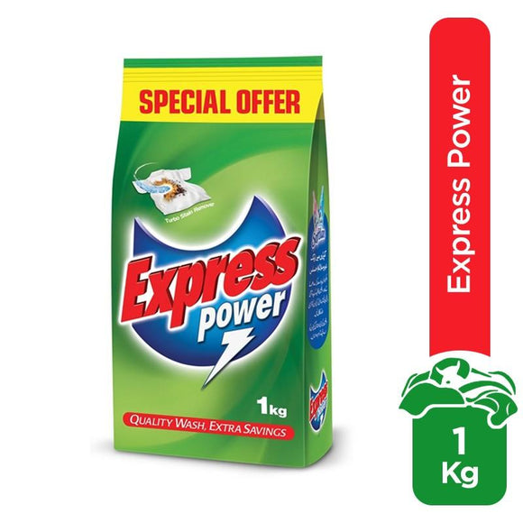 Express Power Detergent Powder 1kg (4611922460757)