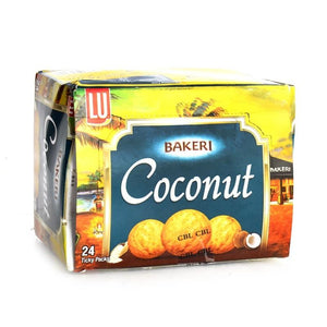 Pack of 24 LU Bakeri Coconut Cookies Ticky Pack