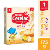 Cerelac - Nestle Cerelac Yellow Fruits (1+ Years) - 175gm (4612945215573)