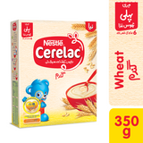 Cerelac - Nestle Cerelac Wheat (6+ months) - 350gm (4611831169109)