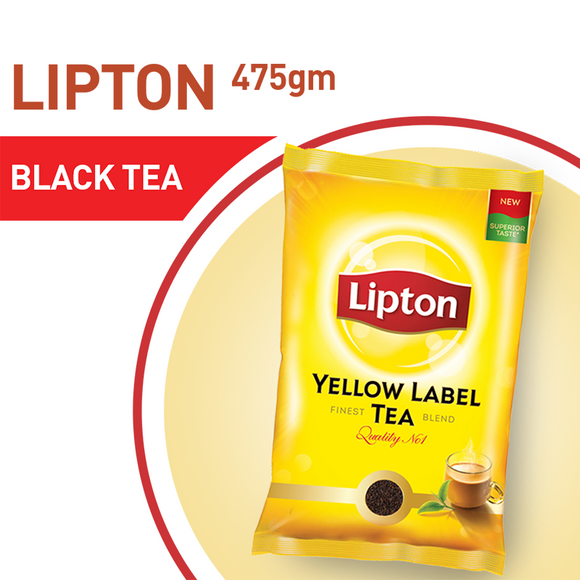 Lipton Yellow Label Tea Chai Patti 475gm (4611864854613)