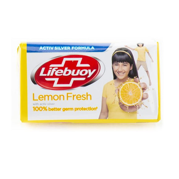 Pack of 3 Lifebuoy - Lifebuoy Lemon Fresh Soap - 146gm