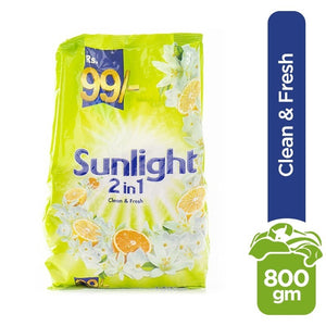 Sunlight Clean and Fresh 2 in 1 750gm