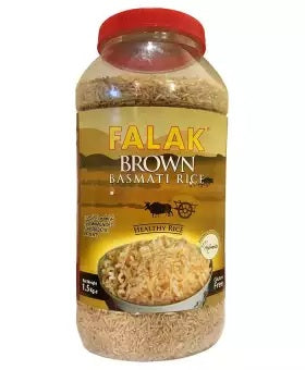 Falak Brown Rice Jar 1.5kg (4805212700757)